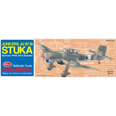 Guillow Model Kit WWII Model Stuka