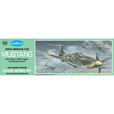 Guillow Scale Model Mustang