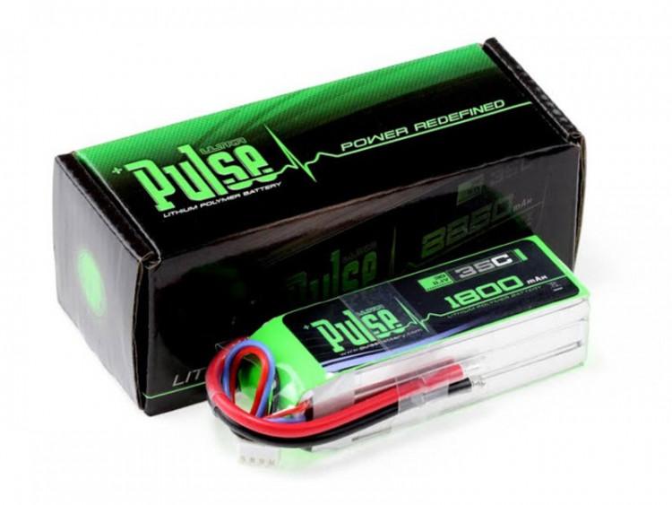 Pulse Lipo 1800Mah 11.1V 35C