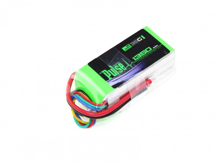Pulse Lipo 1350Mah 14.8V 35C Ultra Power Series