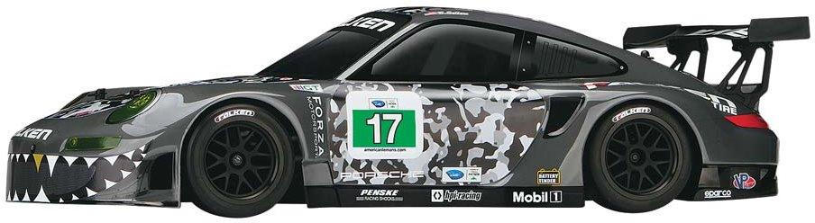 HPI Sport 3 Flux RTR Falken Porsche 911 GT3R Body