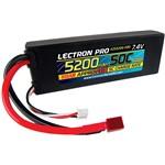 Common Sense RC Lectron Pro 7.4V 5200mAh 50C Lipo Deans