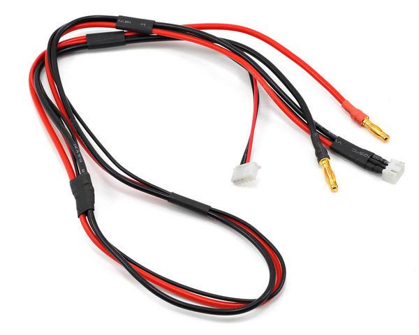 ProTek RC Balance Charge Lead (2S Balance Harness To 4Mm Banana Plugs W/4S