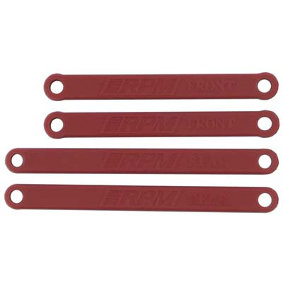 RPM Heavy Duty Camber Links Rustler/Stampede 2WD Red