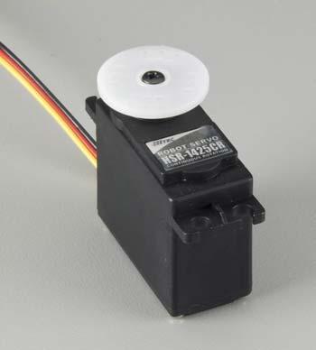 Hitec HS-1425CR Continous Rotation Dual BB