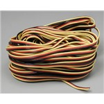 Hitec 59411 Servo Wire 50' 3 Color