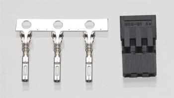 Hitec S Connector Male Set