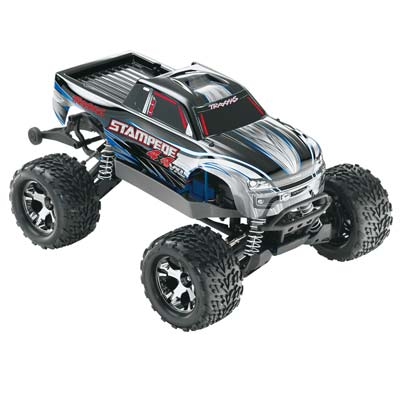 Traxxas Stampede 4X4 Vxl 1/10 Monster Truck Rtr, W/ 2.4Ghz Radio, 3000Ma