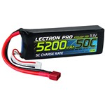 Lectron Pro 11.1V 5200mAh 50C Lipo Battery with Deans-Type Conne