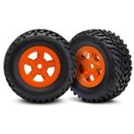 Tires/Wheels Assembled Glued SCT Orange