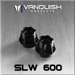 SLW 600 Wheel Hub Black Anodized