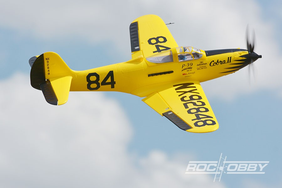 ROC Hobby P-39 Racing High Speed PNP