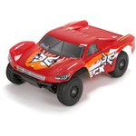 Torment 1/18 4WD Short Course Truck: Red/OrangeRTR