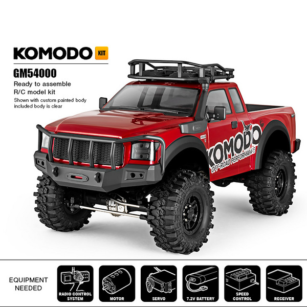 Gmade Komodo Gs01 4Wd Off-Road Adventure Vehicle, Kit