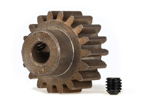 Traxxas Gear, 18-T Pinion (1.0 Metric Pitch, 20? Pressure Angle) (Fits 5