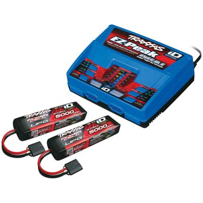 Traxxas Monster Truck Battery And Charger Completer Pack, W/ 2972 Id Cha