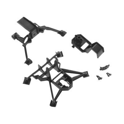 Traxxas Body Mounts, Front & Rear/ 3X15mm Bcs (4)/ 3X12mm Shoulder Screw