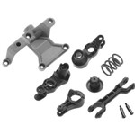 Traxxas Steering Bellcranks/ Bellcrank Support/Servo Saver/ Servo Saver