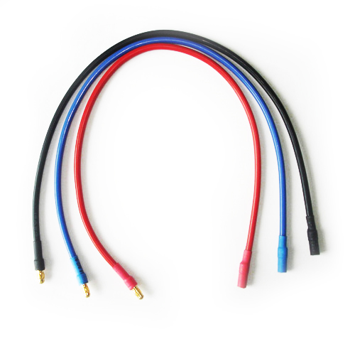 Common Sense RC Motor-to-ESC Extension Cord - 3.5mm Bullet Connectors