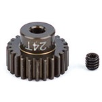 "Associated FT Aluminum Pinion Gear 24T 48P 1/8"" Shaft"