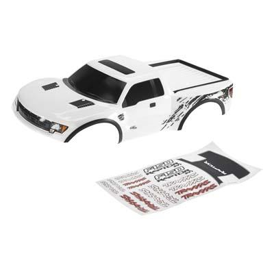 Traxxas Traxxas Ford Raptor Pre-Painted Slash Body (White)