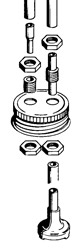 Dubro Fuel Can Fittings