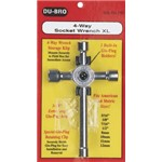 Dubro 4-Way Socket Wrench XL