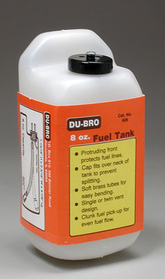 Dubro S8 Square Fuel Tank 8 oz