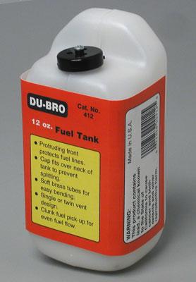 Dubro S12 Square Fuel Tank 12 oz