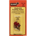 Kwik-Fill Fuel Valve Gas