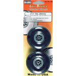 Dubro Treaded Wheels 2-1/2  (2)