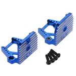 Hot Racing Aluminum Motor Mount Blue X-Maxx