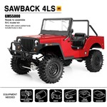 Sawback 4Ls Off-Road Vehicle Kit, 1/10 Scale, W/ A Gs01 Chassis,