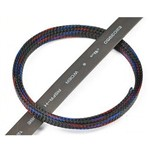 Servo Wire Braided Sleeving Wrap Color Black 2 (1m)