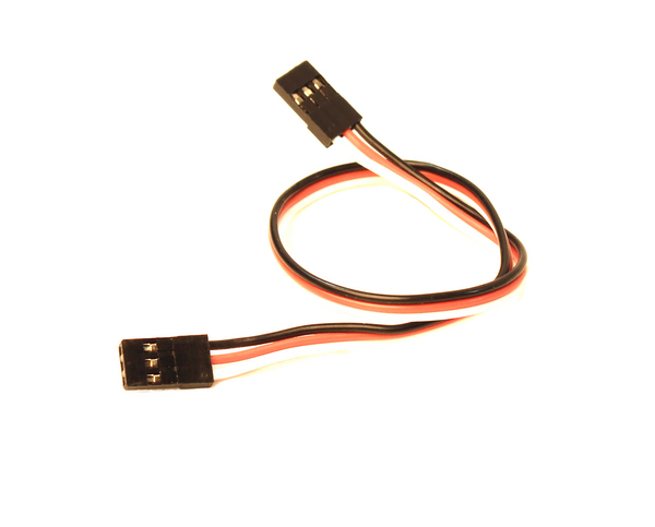"""Racers Edge 9\"""" (229Mm) Universal Extension Lead With Male Connector 22Awg"""