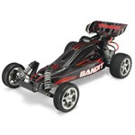 Traxxas Bandit 1/10 Extreme Sports Buggy Black, Rtr W/ Id Battery & 4 Am