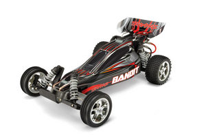 Traxxas 1/10 Bandit Extreme Sports Bug Silver