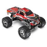 Stampede 1/10 Monster Truck Red, Rtr W/Id Battery & 4 Amp Peak D