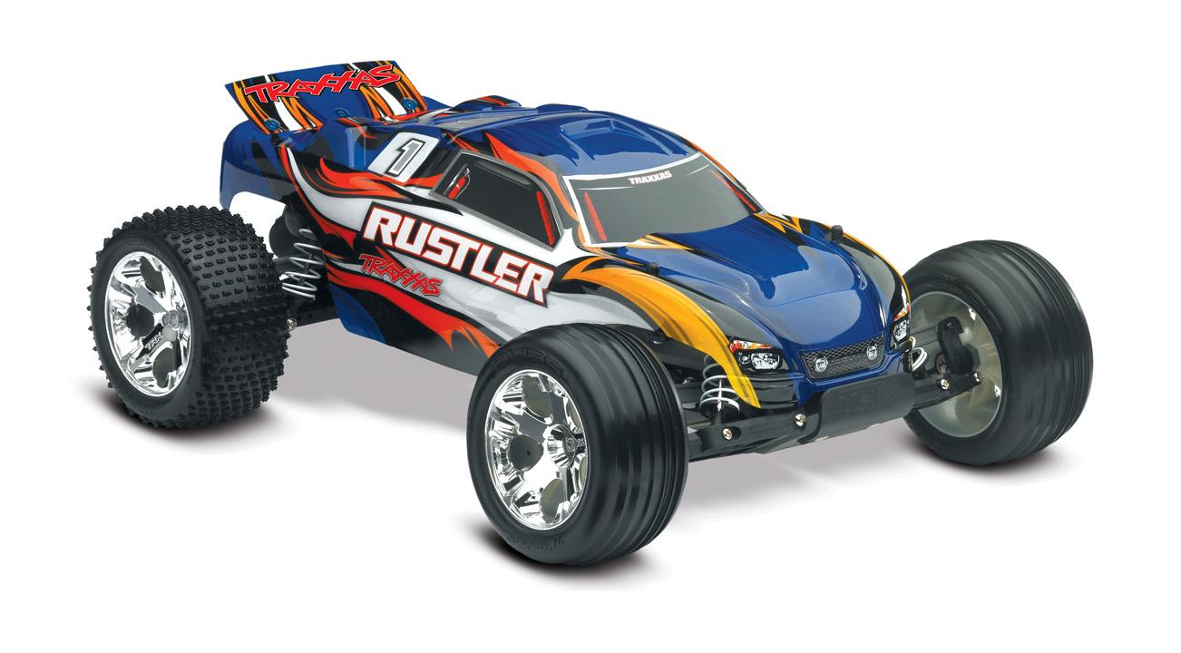 Traxxas Rustler RTR w/XL-5 ESC Blue