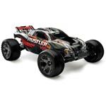 Rustler Vxl 1/10 Stadium Truck Rtr Black W/ Id Battery & 4 Amp P