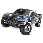 Slash 1/10 2Wd Silver-Blue, Xl-5 Rtr W/2.4Ghz Radio - No Battery