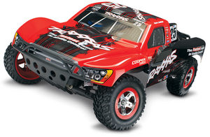 Traxxas Slash 1/10 2Wd Mark Jenkins Rtr W/2.4Ghz, Id Battery & 4Amp Peak