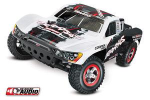 Traxxas 1/10 Slash 2WD SC RTR w/On-Board White