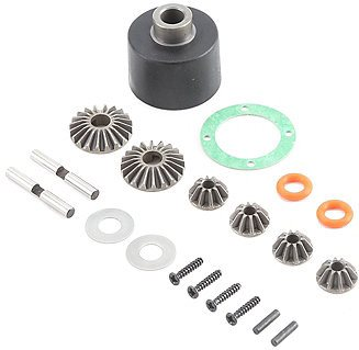 Losi HD Diff Housing & Internals: Baja Rey