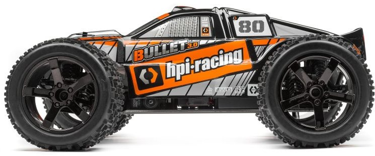 HPI Trimmed And Painted Bullet 3.0 St Body, Black