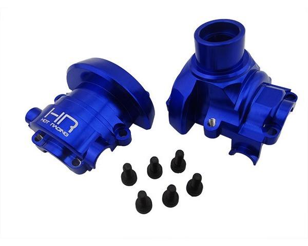 Hot Racing Blue Anodized Cnc Aluminum Outer Diff Case, Summit