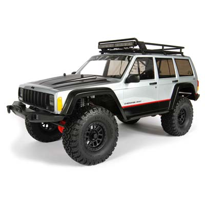 """Axial 2000 Jeep Cherokee Body .040\"""" Clear Body Only"""