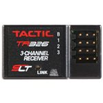 TR326 3-Channel 2.4GHZ SLT HV Receiver Only Nero