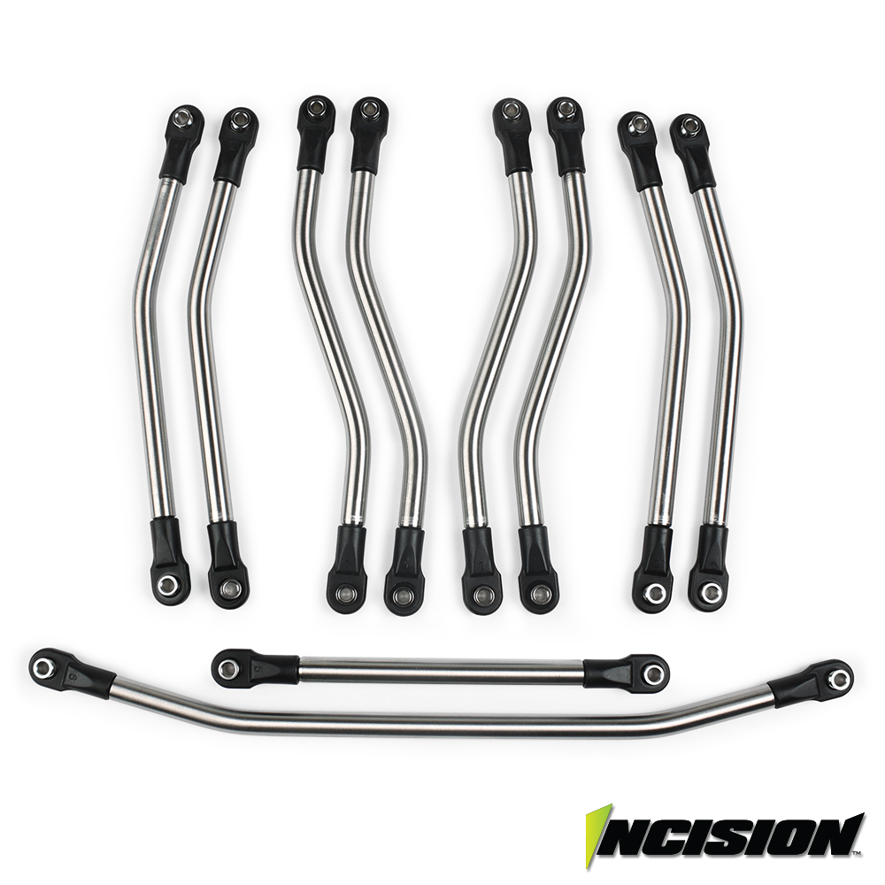 Vanquish Products Incision Wraith 1/4 Stainless Steel 10pc Link Kit