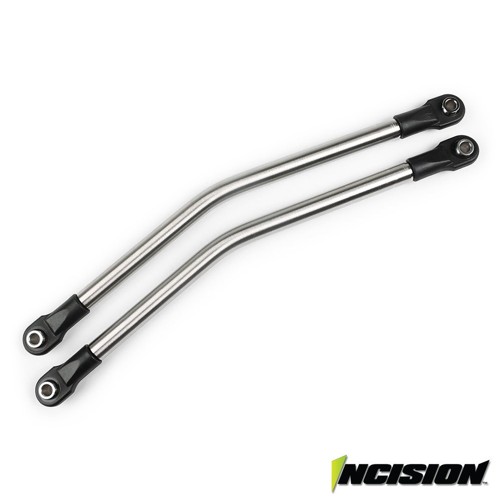 Vanquish Products Incision Yeti 1/4 Stainless Steel Rear Upper Suspension Link Kit